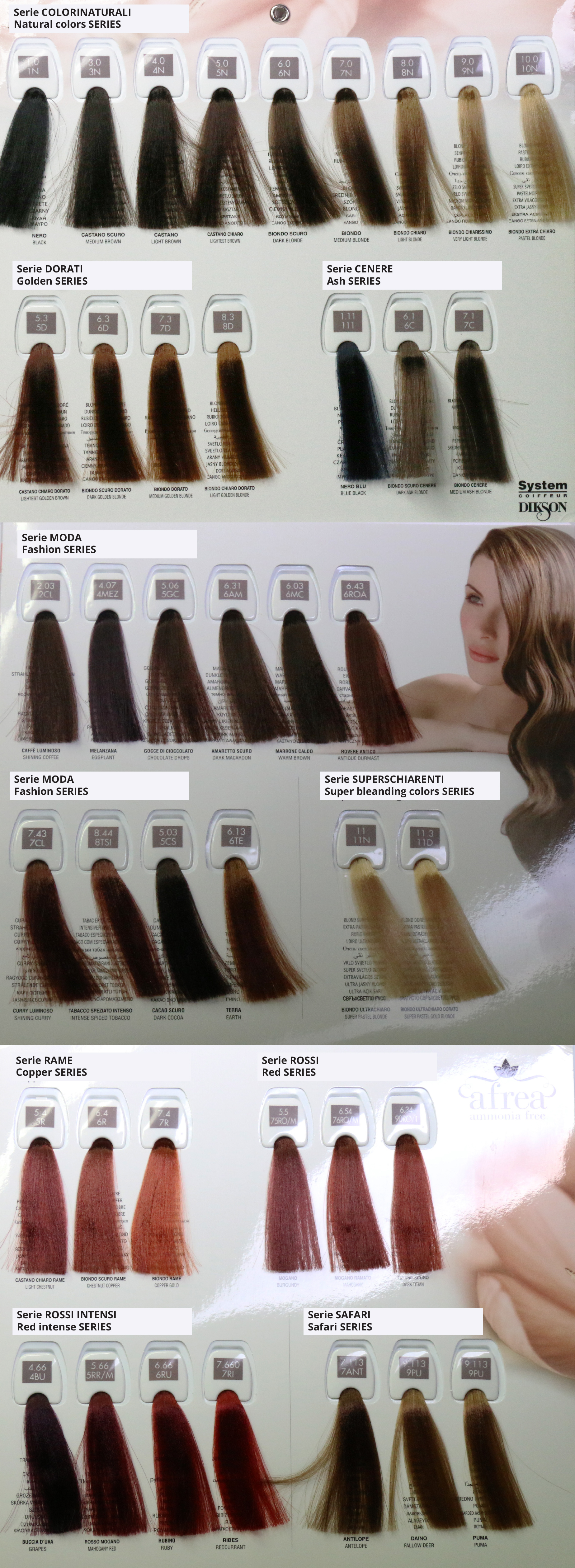 Tec Italy Hair Color Chart Best Hair Color 2018