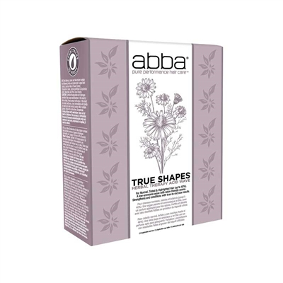 Abba - (3+1) True Shapes Acid Wave Perm