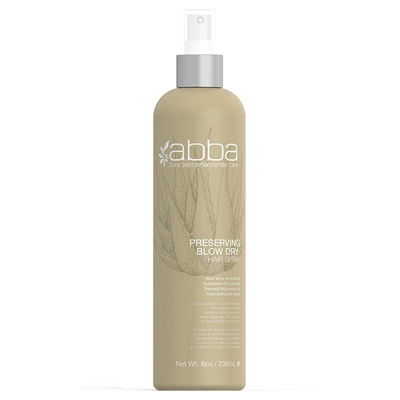 Abba - Preserving Blow Dry Spray 8oz