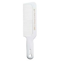Andis - Clipper Comb with Handle - White #12499