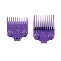 Andis - (01420) Double Magnet Combs - 2pk #0.5 & 1.5