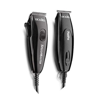 Andis - Pivot Motor Clipper & Trimmer Combo - Black #24075