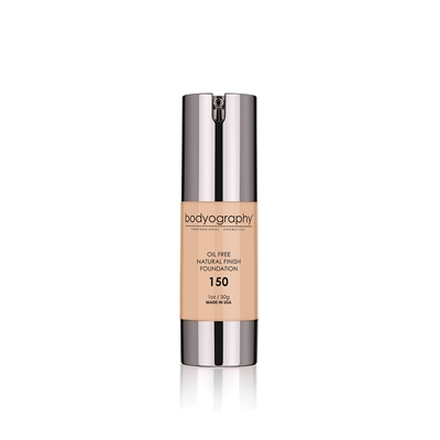 Bodyography - Natural Finish Foundation #150