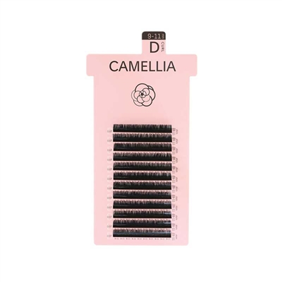 Biomooi - Camellia - Black Lashes - C Curl - 13-15mm