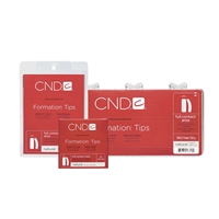 CND - Formation Tips - Natural #4 - 50/pack