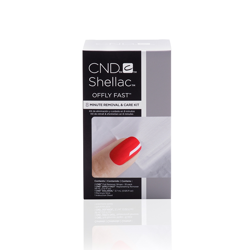 Cnd Shellac Offly Fast 8 Minute Removal Care Kit