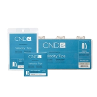 CND - Velocity Tips - Clear - 360/pack