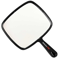 BaBylissPRO - Square Hand Mirror - 7x8 (L) - Black