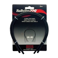 BaBylissPRO - Painless Adjustable Headbands - 2pc - Black