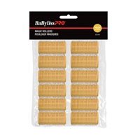 Babyliss Pro - Velcro Rollers - Yellow - 32mm - 12 / Bag