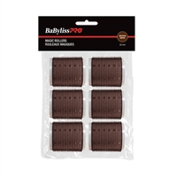 Babyliss Pro - Velcro Rollers - Brown - 55mm - 6/Bag