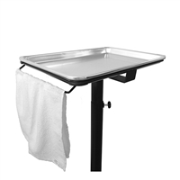 BaBylissPRO - Mobile Tray Towel Holder