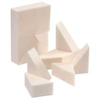 Silkline - Foam Make Up Wedges - 24pc