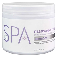 BCL Spa - Lavender Mint Massage Cream - 16oz