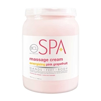BCL Spa - Pink Grapefruit Massage Cream - 64oz