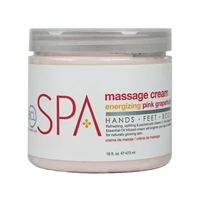 BCL Spa - Pink Grapefruit Massage Cream - 16oz