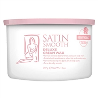 Satin Smooth - Deluxe Cream Wax - 14oz