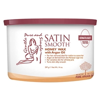 Satin Smooth - Honey & Argan Oil Organic Wax