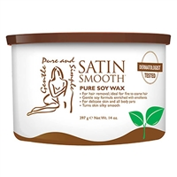 Satin Smooth - Organic Soy Depilatory Wax - 1