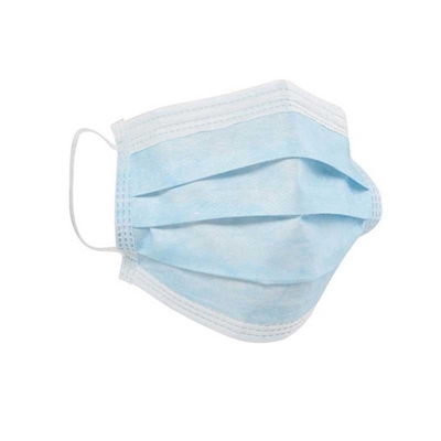 H&R - 3 Layer Disposable Blue Mask - 50pk