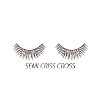 Luxe - Synthetic Lashes - Semi Criss Cross - 3 Pairs