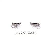 Luxe - Natural False Lashes - Accent Wing - 1 Pair