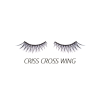 Luxe - Natural False Lashes - Criss Cross Wing - 1 Pair