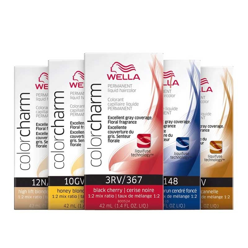 Wella Color Charm Brown Red Violet Cinnamon