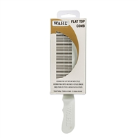 Wahl - (53202) Barber Flat Top Comb - White
