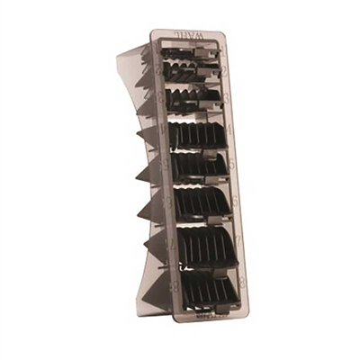 Wahl - Caddy 8 Pack Cutting Guides - Black #53153