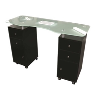 H&R - Chelsea Vented Table Black
