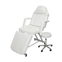 Skytone - Facial Bed and Stool - White