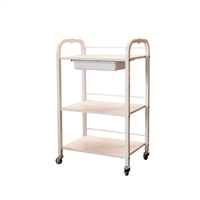 Skytone - Spa Trolley - White